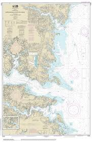 Maryland rivers images Modern nautical charts of the chesapeake bay jpg