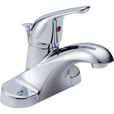 Delta Faucet Com Delta Faucet B510lf Foundations Polished Chrome One Handle