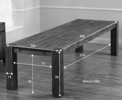 10 Seat Dining Table Dimensions Wooden Kitchen Table Dimensions Google Search Tables