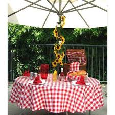 top round green gingham tablecloth get quotations a tablecloths 60