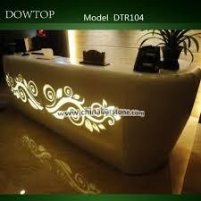 manufacture high end salon furniture reception desk luxury spa reception counter front desk
