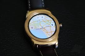 Google Maps Running Route by This Is Google Maps For Android Wear Running On A Watch Urbane
