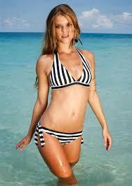 skimpy swimwear for 2014 nina agdal models the skimpy bonprix swimwear spring summer 2014