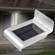 Solar Powered Fence Lights - power led light 24 led motion sensor waterproof