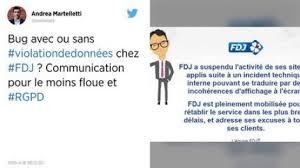 si e fran ise des jeux des de de la française des jeux bloqués possible fuite