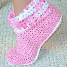 womens slipper boots size 12 crochet pattern cuffed boots slippers in and sizes pdf