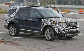 Ford Explorer Engine Swap - 2016 ford explorer spy photos u2013 news u2013 car and driver