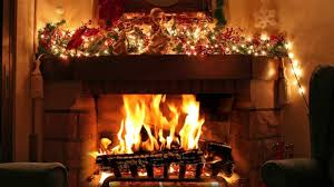 Lighted Christmas Decorations by Decorations Stylish Christmas Fireplace Decoration Feature