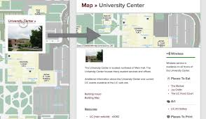 Uc Map Interactive Map Functionality Campus Maps University Of Montana