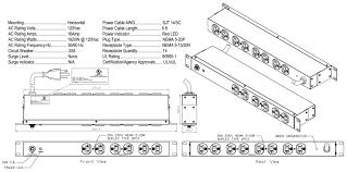 wall mount pdu 14 outlet power strip rackmount pdu fiber savvy