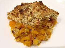 cuisine potimarron crumble de potimarron au bacon et parmesan papa en cuisine