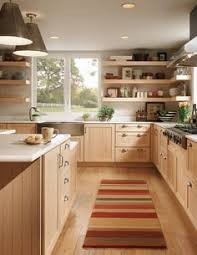 Kitchen With Maple Cabinets by My Sister U0027s New Kitchen Surprise It U0027s Not White Or Subway Tile