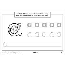 Letterland Worksheets Early Years Handwriting Copymasters Spellbound Bookstore