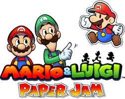 downloads mario u0026 luigi paper jam nintendo 3ds official