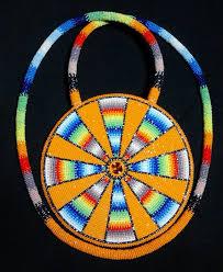 beaded medallion necklace images Beautiful native american beaded medallion pinned by asdzaa jpg