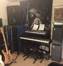 your home music practice gear studio rehearsal area talkbass com