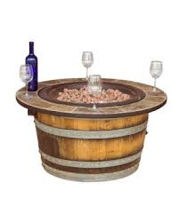 Wine Barrel Fire Pit Table by Wine Barrel Furniture And Oak Barrel Stave Decor By Napa East