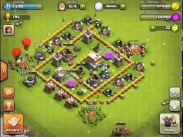 coc village layout level 5 best town hall level 5 defense setup clash of clans youtube