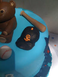 sabrina u0027s baby shower cake close up of baseball hat flickr