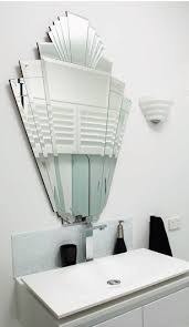 mirrors art deco mirrors convexcustom made bathroom mirrors