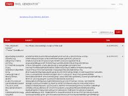 Fake Mail Generator Free temporary email addresses