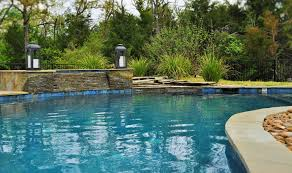 Lagoon Swimming Pool Designs by Sunshine Fun Pools 4200 State Highway 6 South College Station Tx