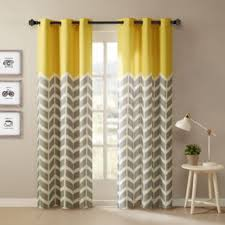Yellow And Gray Window Curtains Curtain Yellow And Gray Window Curtains Curtain Grey Flowers
