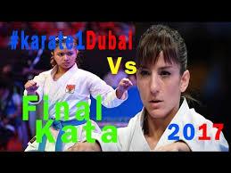 Sho Putri dubai karate1 2017 kata vs putri apilia