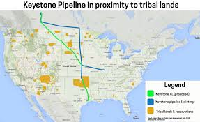 keystone xl pipeline map tribes unite to fight the keystone pipeline and