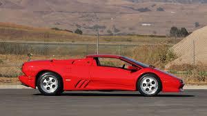 lamborghini diablo 1997 lamborghini diablo vt roadster s119 monterey 2016
