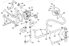 1986 e150stlcdc evinrude vro pump diagram and parts