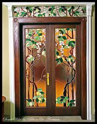 stained glass cupboard doors stained glass door amazing stained glass pinterest stained