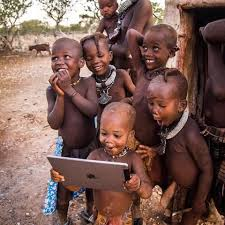 African Kid Meme Clean Water - tribal children see a ipad for the first time pics