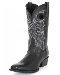 Durango Men U0027s Gambler Black Western Boots Fort Brands
