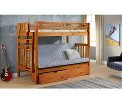 Wood Twin Over Futon Bunk Bed Roselawnlutheran - Wood bunk bed with futon