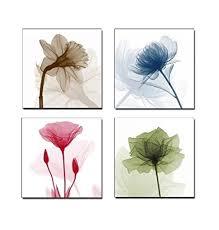art contemporary art flower giclee canvas prints framed canvas