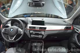 2016 bmw dashboard 2016 bmw x1 dashboard at the iaa 2015 indian autos blog