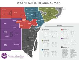 Metro Detroit Map by Contact Wayne Metro Wayne Metro Community Action Agency