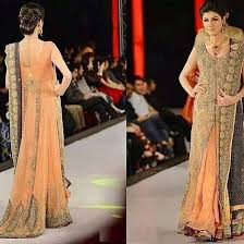 fancy party wear gowns 2017 designer embroidered collection
