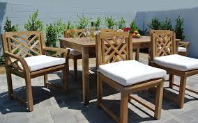 teak patio table with leaf outdoor patio furniture teak outdoor dining furniture sunbrella