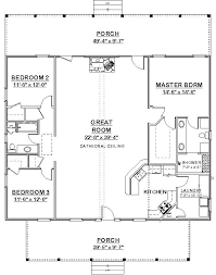 Split Bedroom Plan Square House Plans 40x40 The Makayla Plan Has 3 Bedrooms And 2