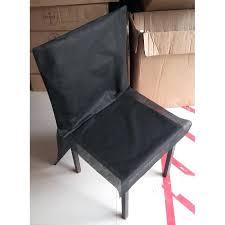 chaise soldes housse de chaise solde housses de chaise pas chares noir soldes