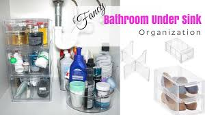 under sink organization bathroom organization and storage ideas