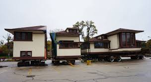 frank lloyd wright trained john van bergen home moved to evanston