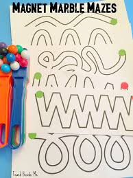 magnetic marble mazes to print u0026 play magnets science marble