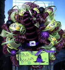Halloween Picks For Wreaths by Deco Mesh Wreaths