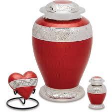 cremation urns urns direct 2u berkshire silver cremation urn set walmart