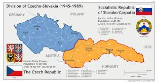Map Of Czech Republic Geopolitics History Of Czech Republic