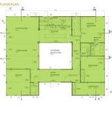 courtyard house floor plans center courtyard house plans with 2831 square feet this is one of