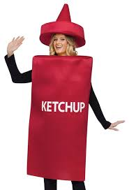 Bottle Halloween Costume Amazon Funworld Ketchup Bottle Red Size Costume Clothing